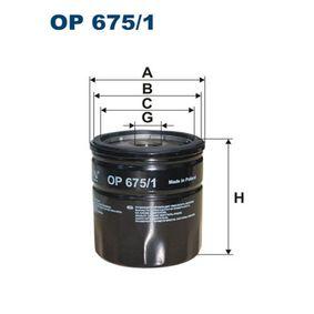 Ölfilter Art. Nr. OP 675/1 120,00€