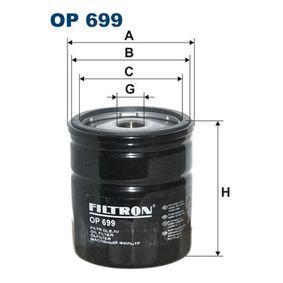 Ölfilter Ø: 76,5mm, Innendurchmesser 2: 70mm, Innendurchmesser 2: 62mm, Höhe: 85mm mit OEM-Nummer 450 2696
