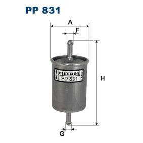 Kraftstofffilter Höhe: 138mm mit OEM-Nummer 1567-79
