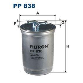 Горивен филтър PP 838 25 Хечбек (RF) 2.0 iDT Г.П. 2002