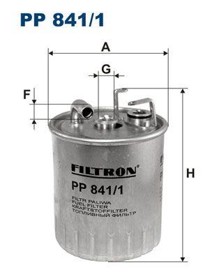 FILTRON  PP 841/1 Kraftstofffilter Höhe: 127mm