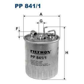 Kraftstofffilter Höhe: 127mm mit OEM-Nummer 611 092 06 01 67