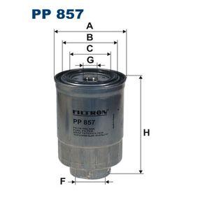 Kraftstofffilter Höhe: 145mm mit OEM-Nummer 1640359E0A