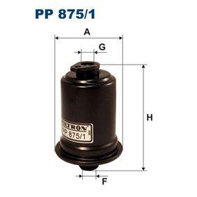 Kraftstofffilter Höhe: 111mm mit OEM-Nummer 31911-29000