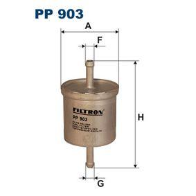 Kraftstofffilter Höhe: 121mm mit OEM-Nummer 16400 V2700