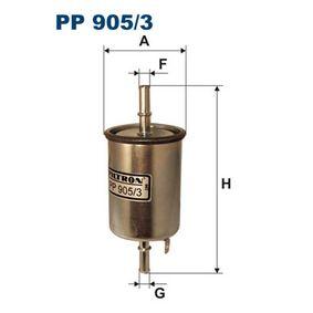 Filtro combustible PP 905/3 KALOS 1.4 16V ac 2006