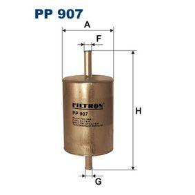 Kraftstofffilter Höhe: 132,5mm mit OEM-Nummer 77 00 820 375