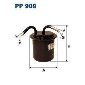 Kraftstofffilter PP 909 IMPREZA Schrägheck (GR, GH, G3) 2.5 WRX S AWD Bj 2010