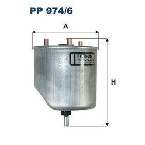2016 Peugeot 3008 Mk1 1.6 BlueHDi 115 Fuel filter PP 974/6