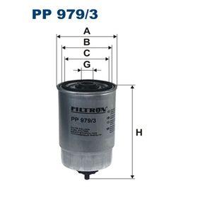 Fuel filter PP 979/3 SORENTO 1 (JC) 2.5 CRDi MY 2011