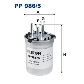Fuel filter Article № PP 986/5 £ 140,00