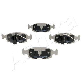 Bremsbelagsatz, Scheibenbremse Höhe: 52,5mm, Dicke/Stärke: 17,2mm mit OEM-Nummer 71 772 815