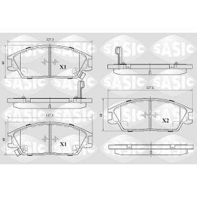 Bremsbelagsatz, Scheibenbremse Dicke/Stärke: 15,6mm mit OEM-Nummer 58202-28A00
