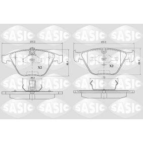 Bremsbelagsatz, Scheibenbremse Dicke/Stärke: 19,6mm mit OEM-Nummer 24161