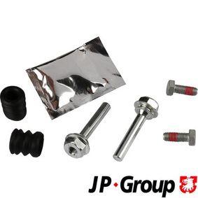 JP GROUP  1161953710 Führungshülsensatz, Bremssattel Bolzenlänge: 60mm