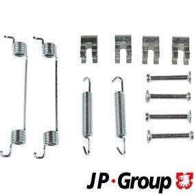 Accessory Kit, brake shoes 3364002210 PUNTO (188) 1.2 16V 80 MY 2002
