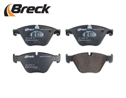 Bremsklötze BRECK 246880055110 Erfahrung