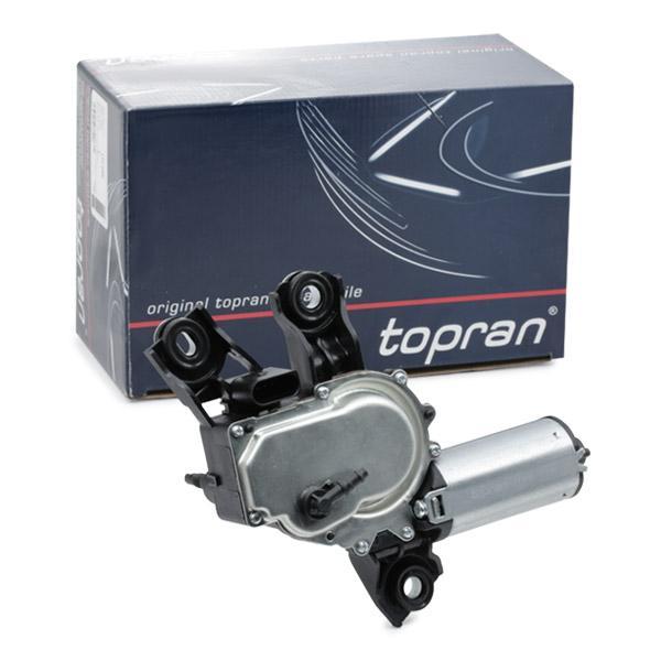TOPRAN  117 655 Wischermotor Pol-Anzahl: 4-polig