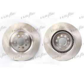 Bremsscheibe Bremsscheibendicke: 25mm, Ø: 312mm mit OEM-Nummer 8L0615301