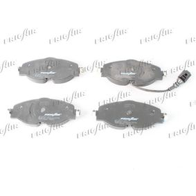 Kit de plaquettes de frein, frein à disque Hauteur: 64mm, Épaisseur: 20mm avec OEM numéro 5Q0698151B