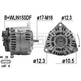 Lichtmaschine mit OEM-Nummer 000 150 65 50