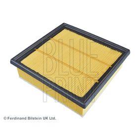 Luftfilter Länge: 212mm, Breite: 203,0mm, Höhe: 64,2mm mit OEM-Nummer 95513087