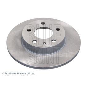 Bremsscheibe Bremsscheibendicke: 11mm, Ø: 240,0mm mit OEM-Nummer 606 708 04