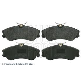 Bremsbelagsatz, Scheibenbremse Breite: 56,2mm, Dicke/Stärke 1: 18,2, 19mm mit OEM-Nummer E172536