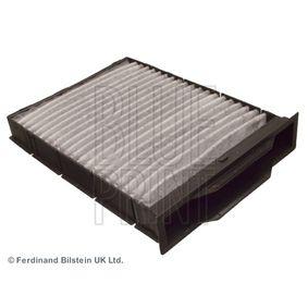 Filter, Innenraumluft Länge: 248mm, Breite: 180,0mm, Höhe: 30mm mit OEM-Nummer 7701064235