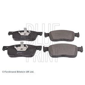 Bremsbelagsatz, Scheibenbremse Breite: 69,5mm, Dicke/Stärke 1: 16,5mm mit OEM-Nummer 1613260780