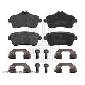 Bremsbelagsatz, Scheibenbremse Breite: 59,8mm, 49,9mm, Dicke/Stärke 1: 18,5mm mit OEM-Nummer A006 420 34 20