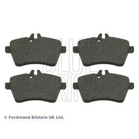 2010 Mercedes W169 A 180 CDI 2.0 (169.007, 169.307) Brake Pad Set, disc brake ADU174218