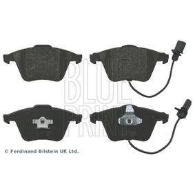Bremsbelagsatz, Scheibenbremse Breite: 72,8mm, Dicke/Stärke 1: 20mm mit OEM-Nummer 4F0 698 151 B