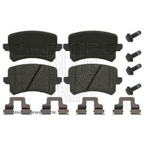 Bremsbelagsatz, Scheibenbremse Breite: 56,3mm, Dicke/Stärke 1: 16,1mm mit OEM-Nummer 3C0698451