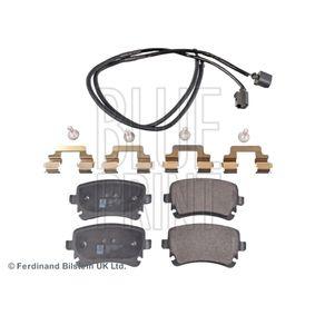 Bremsbelagsatz, Scheibenbremse Breite: 58,7mm, Dicke/Stärke 1: 16,6mm mit OEM-Nummer 3D0698451