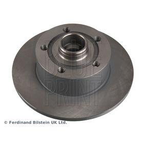 Bremsscheibe Bremsscheibendicke: 10mm, Ø: 245,0mm mit OEM-Nummer 8D0615301B