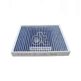 Filter, Innenraumluft Länge: 254mm, Breite: 235mm, Höhe: 32mm mit OEM-Nummer 65 61910 0001
