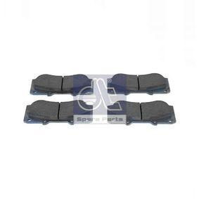 DT  14.94000 Kit de plaquettes de frein, frein à disque