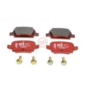 Bremsbelagsatz, Scheibenbremse Breite: 95,6mm, Höhe: 43,8mm, Dicke/Stärke: 14,0mm mit OEM-Nummer 92 001 32