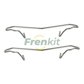 Accessory Kit, disc brake pads 901056 PUNTO (188) 1.2 16V 80 MY 2002