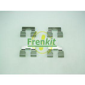Комплект принадлежности, дискови накладки 901214 25 Хечбек (RF) 2.0 iDT Г.П. 2005