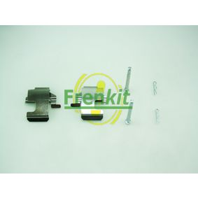 Accessory Kit, disc brake pads 901273 PANDA (169) 1.2 MY 2010