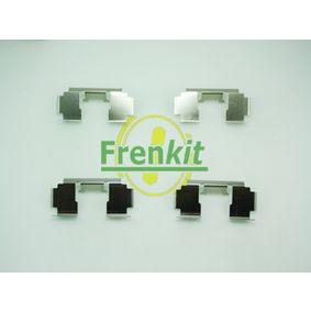 Комплект принадлежности, дискови накладки 901276 25 Хечбек (RF) 2.0 iDT Г.П. 2002