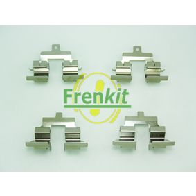 Accessory Kit, disc brake pads with OEM Number 44011-EM11A-