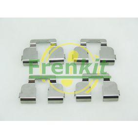 Renault Twingo 2 1.2 Turbo (CN0C, CN0F) Zubehörsatz, Scheibenbremsbelag FRENKIT 901835 (1.2 Turbo Benzin 2021 D4F 782)