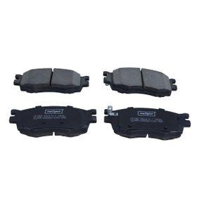 MAXGEAR Bremsbelagsatz Vorderachse, mit akustischer Verschleißwarnung