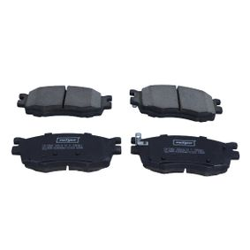 MAXGEAR Disk pads Front Axle, with acoustic wear warning