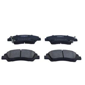 Bremsbelagsatz, Scheibenbremse Breite: 50,5mm, Dicke/Stärke: 15,8mm mit OEM-Nummer 58101-B9A70