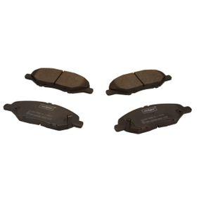 Nissan Micra K12 1.5dCi Bremsbeläge MAXGEAR 19-3395 (1.5dCi Diesel 2008 K9K 704)