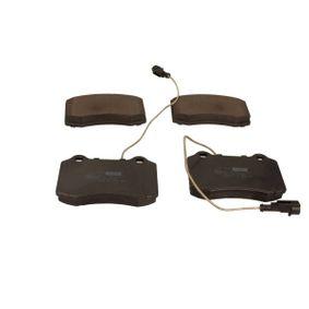 MAXGEAR Τακάκια φρένων μπροστινός άξονας, με ενσωματωμένο αισθητήρα φθοράς